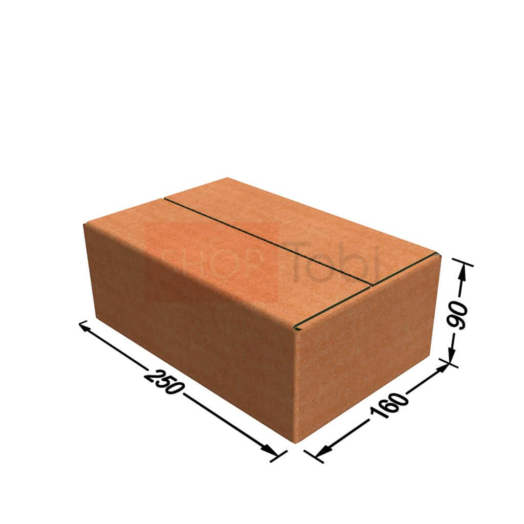 Картонная коробка / Гофроящик 250*160*85