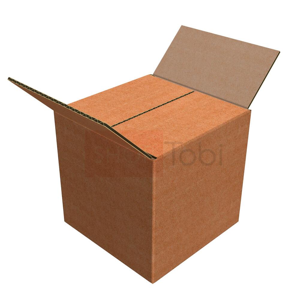 Картонная коробка / Гофроящик 150*150*150