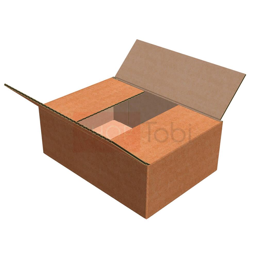 Картонная коробка / Гофроящик 230*160*85