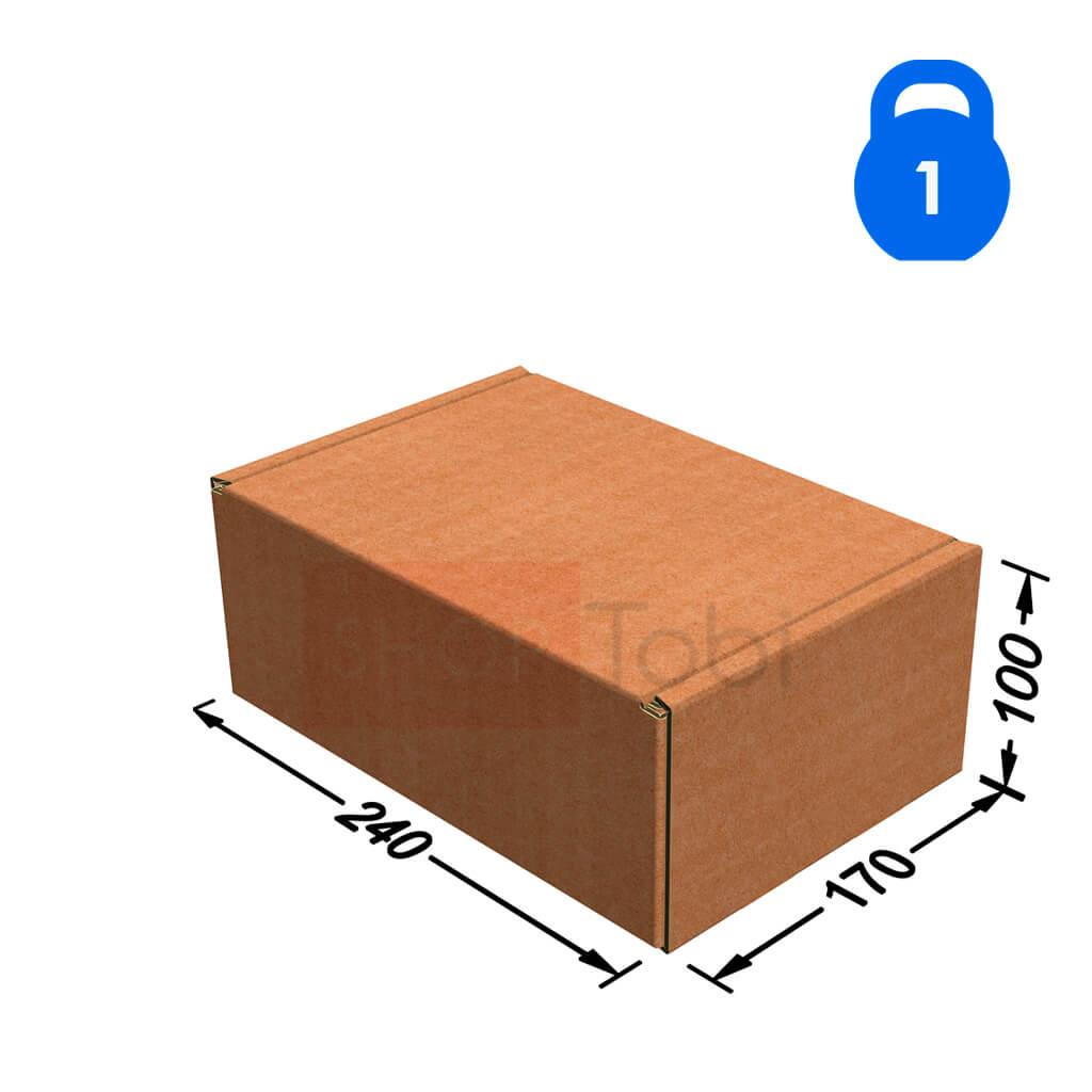 Коробка Пошти 240*170*100 - 1кг