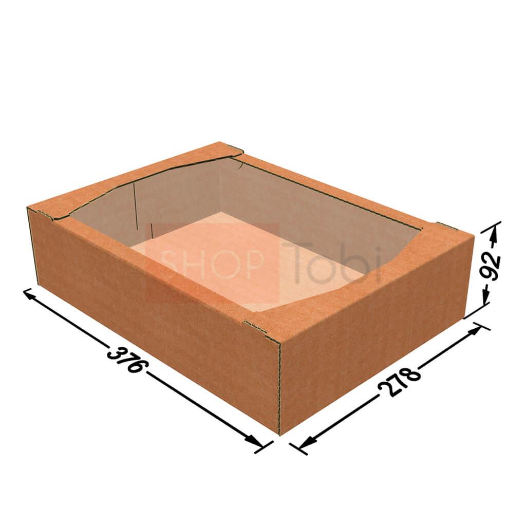 Коробка кондитерская (экран) 376*278*92