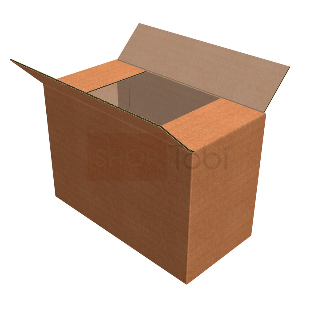 Картонна коробка / Гофроящик  385*190*265