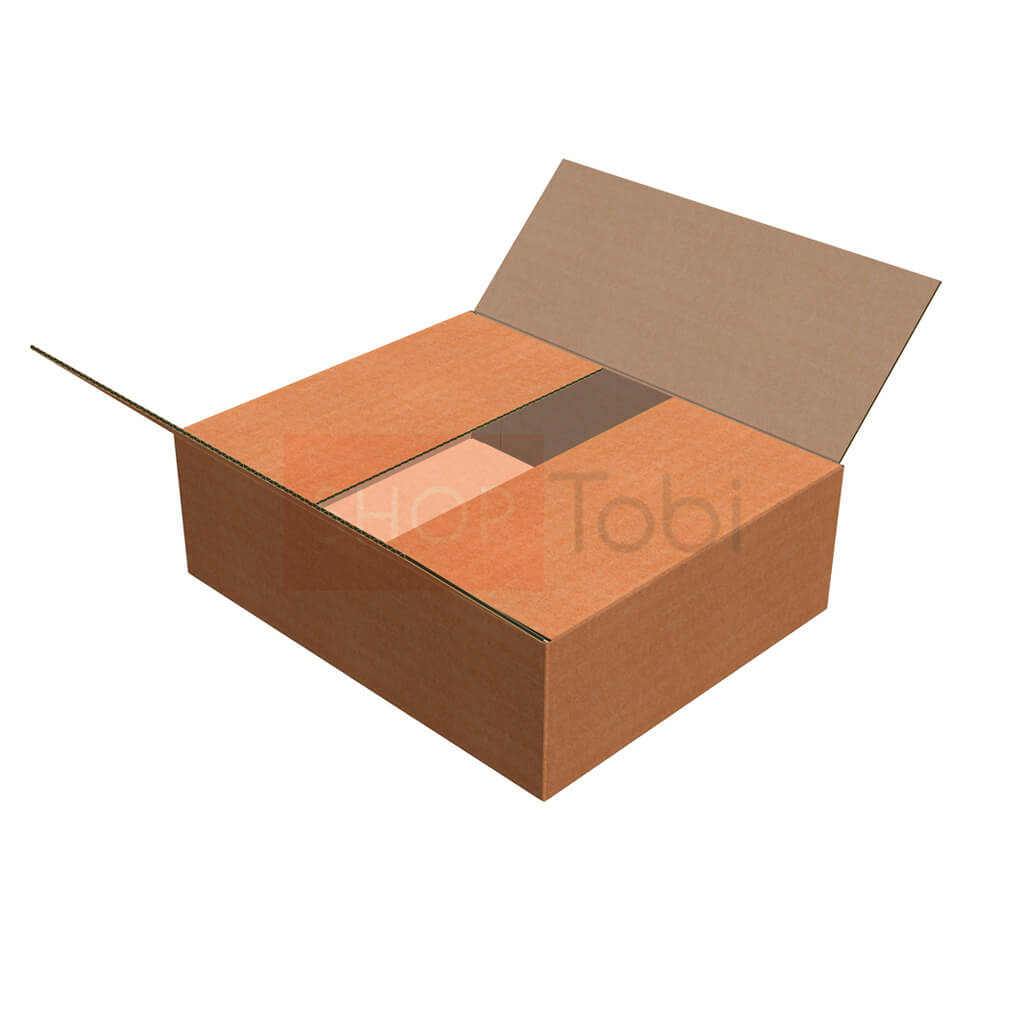 Картонна коробка / Гофроящик 405*330*130 (С ЛОГОТИПОМ)