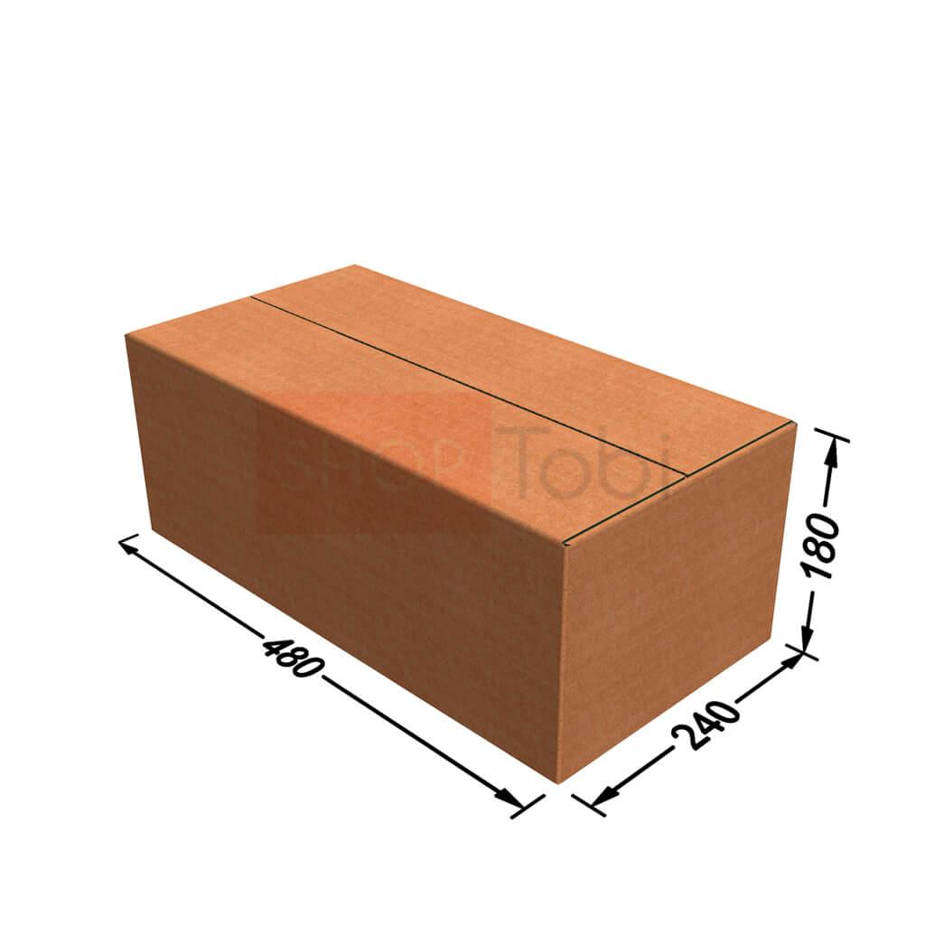 Картонная коробка / Гофроящик 480*240*180