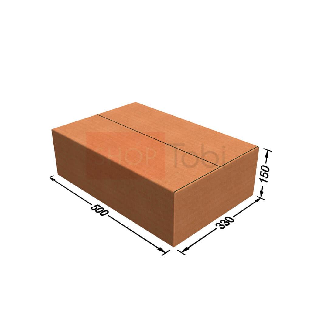 Картонная коробка / Гофроящик 500*330*150