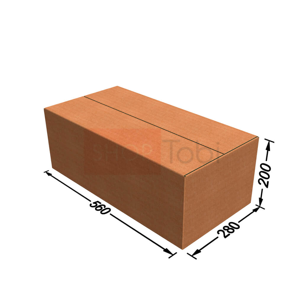 Картонная коробка / Гофроящик 560*280*200