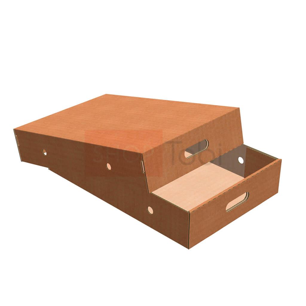 Картонная коробка под мясо 560*380*110