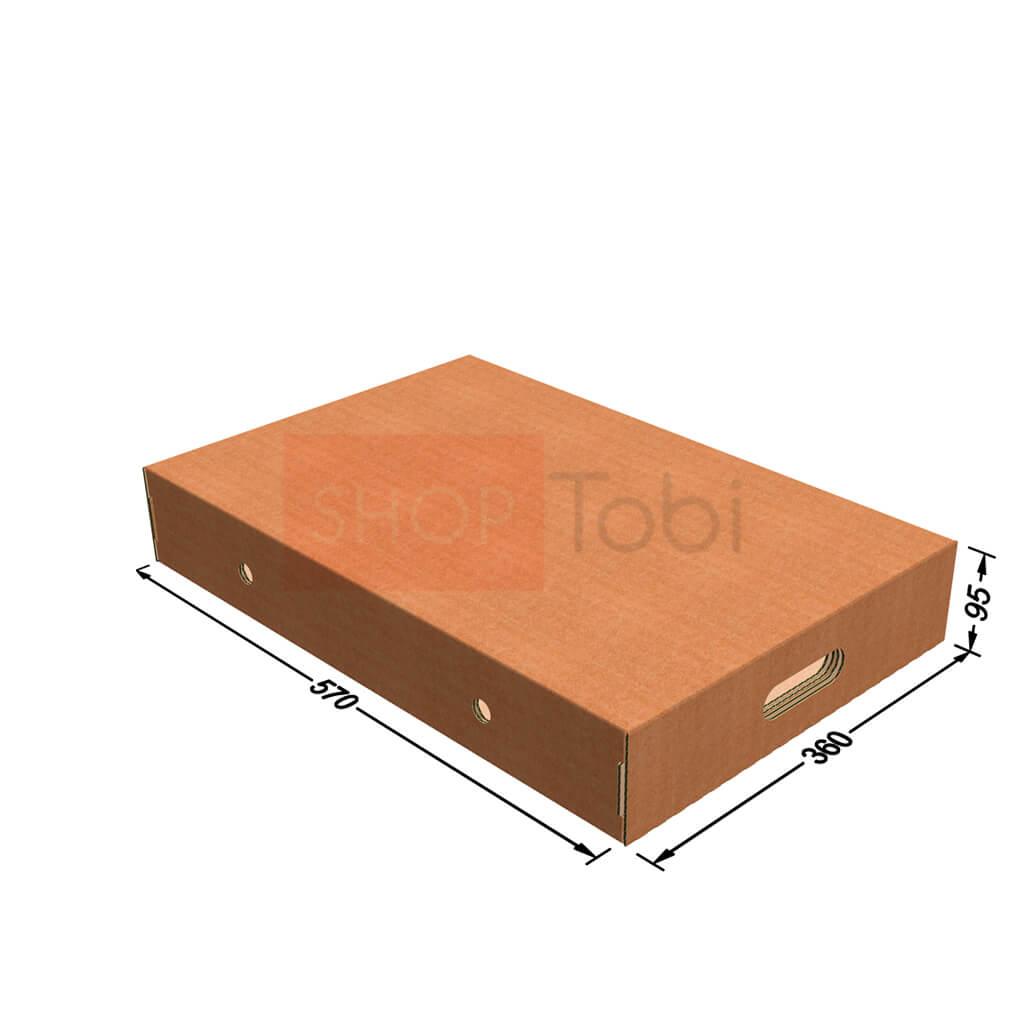 Картонная коробка под мясо 570*360*95