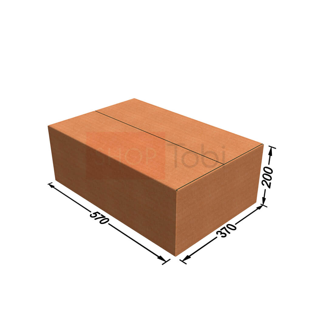 Картонная коробка / Гофроящик 570*370*200