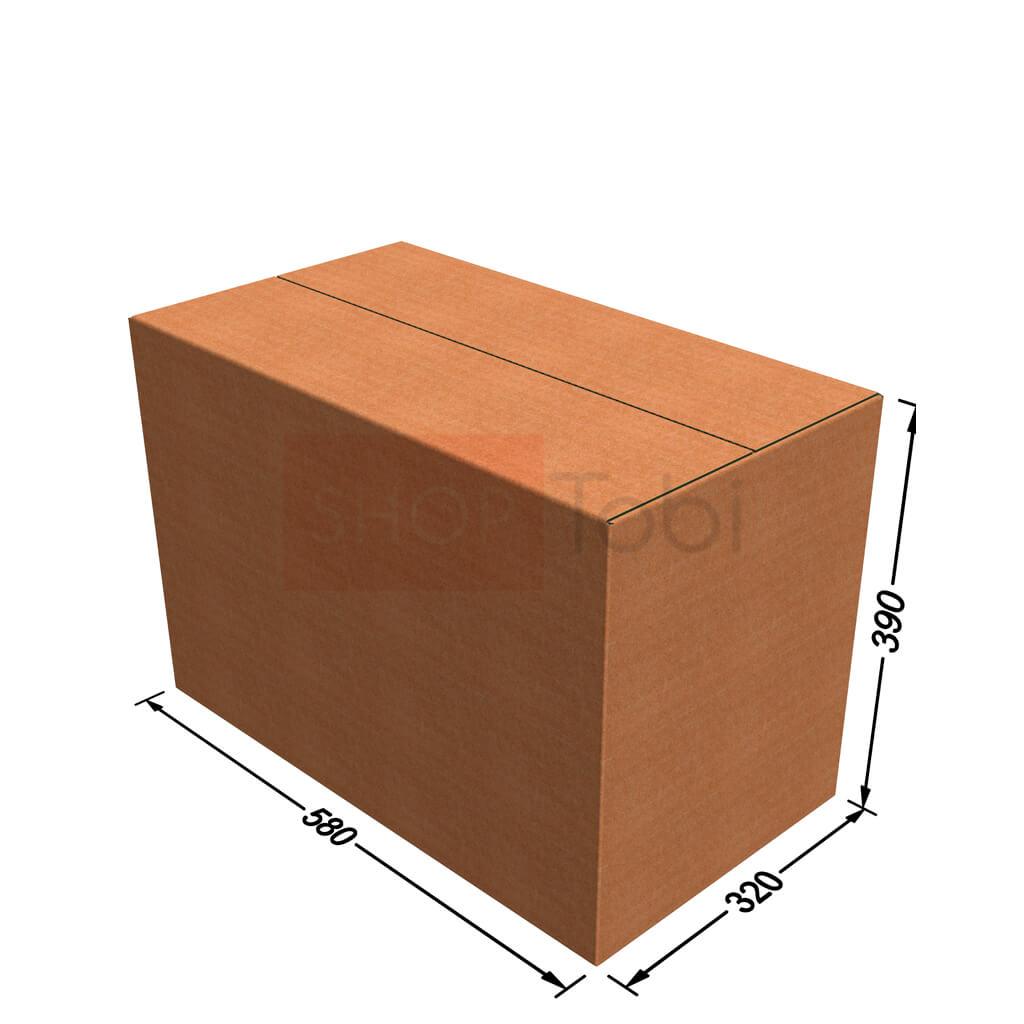 Картонная коробка / Гофроящик 580*320*390