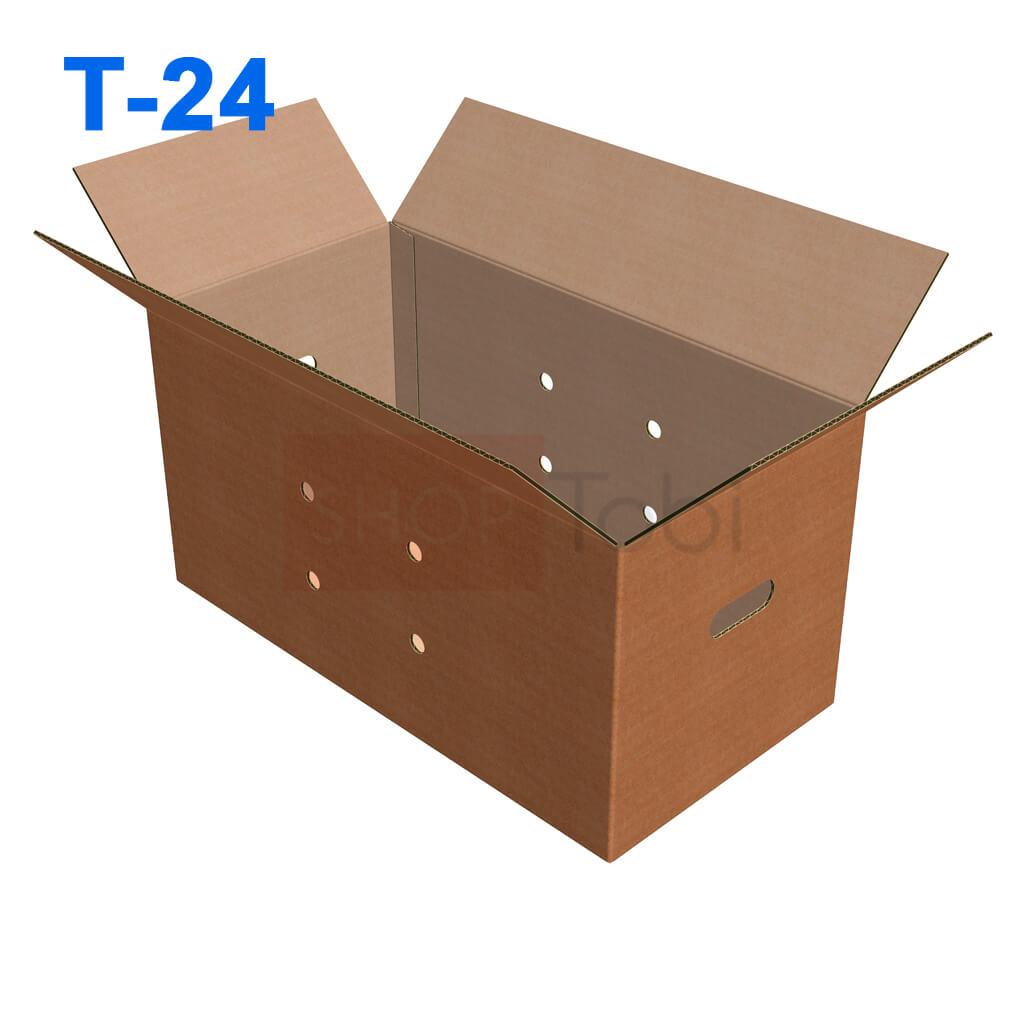 Картонна коробка для яєць 630*320*330 (Т-24)