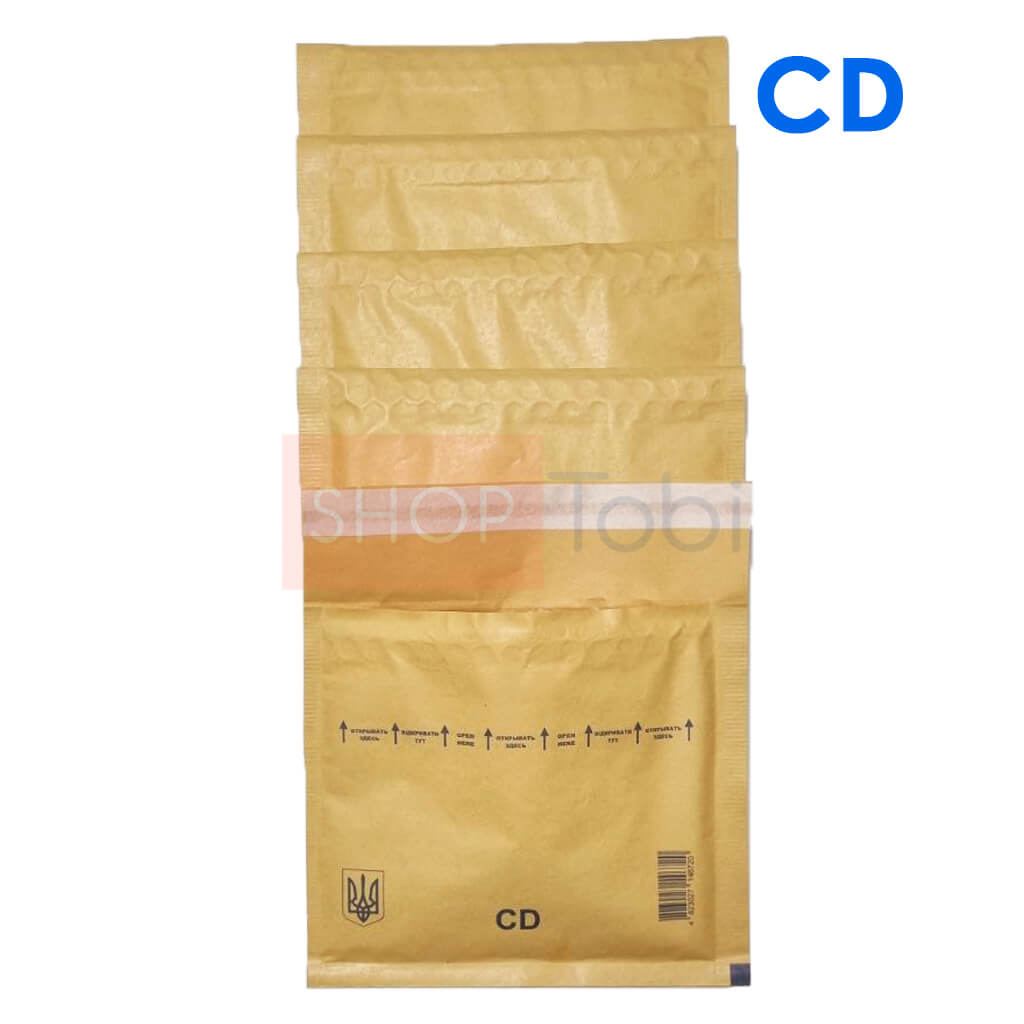 Конверт бандерольный 180*160 - CD