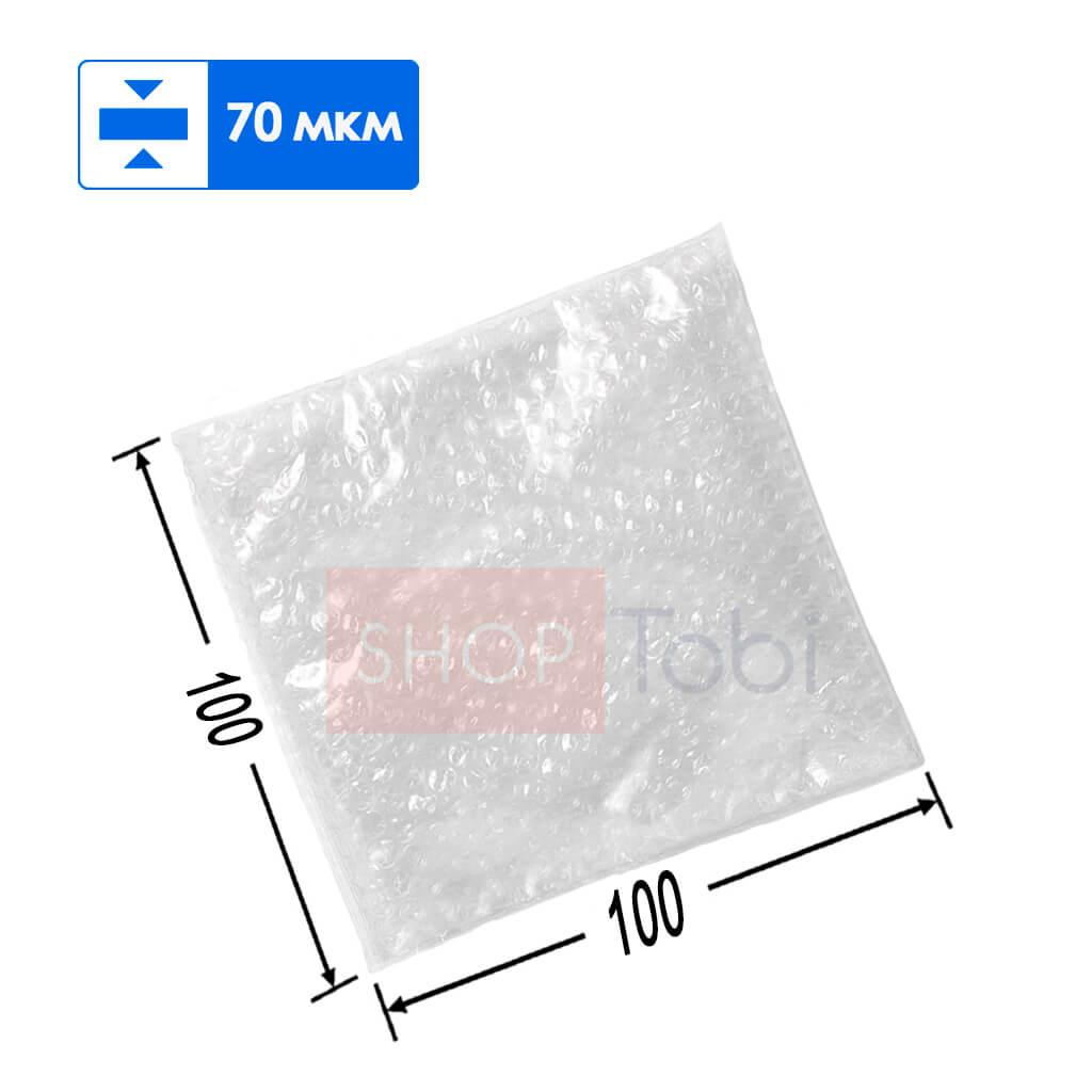 Пакет из воздушно-пузырчатой пленки 100*100
