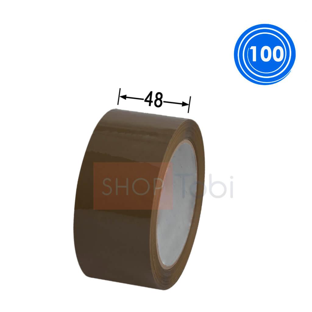 Скотч 48мм*100м (коричневый)